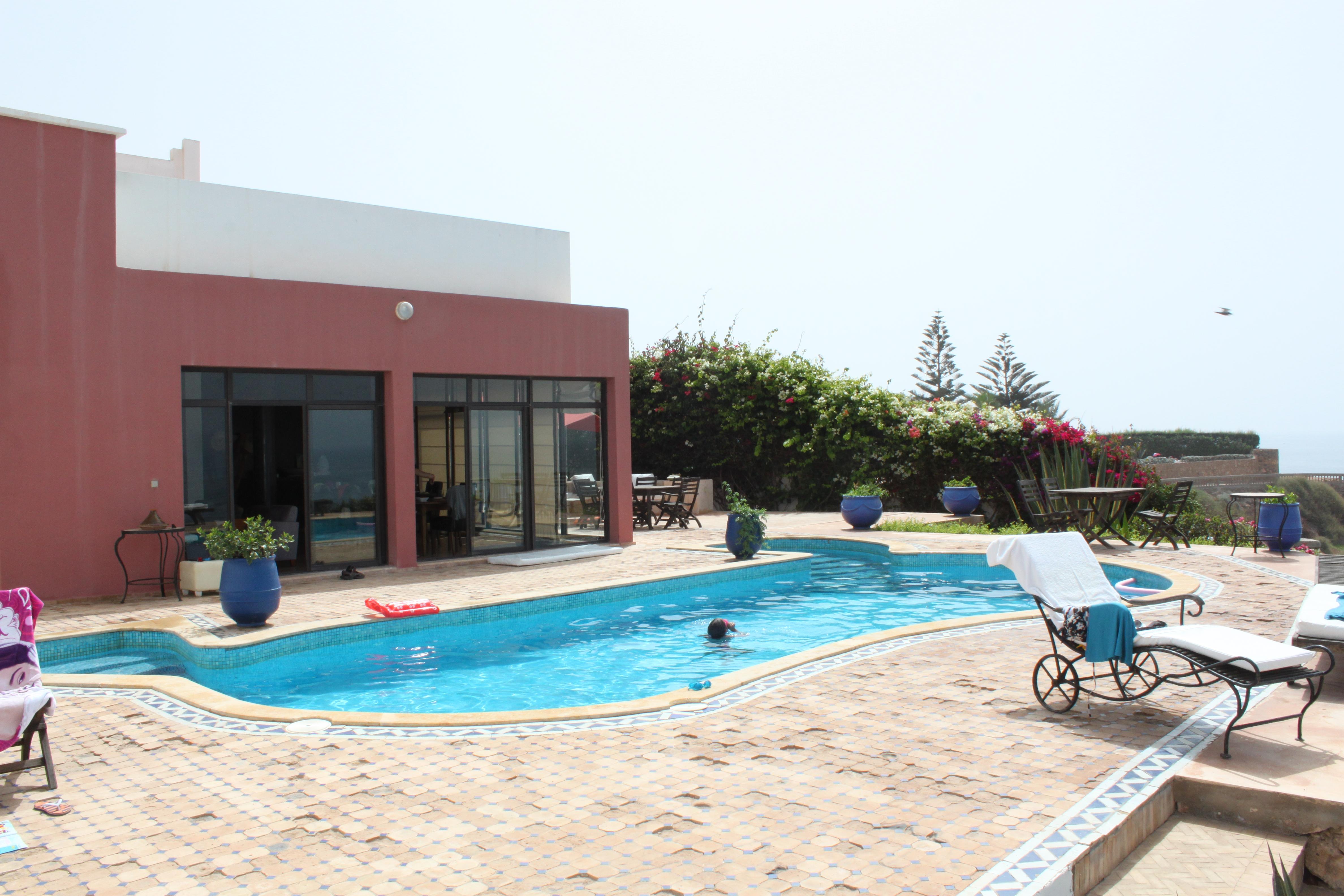 Mirleft voyager au maroc for Location villa avec piscine agadir